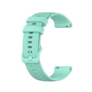 18 20 22mm Sport Silicone Wrist Strap For Garmin Vivoactive 4S 4 3 Smart Watch Band For Vivoactive 3 4 4S Wristband Accessories 13