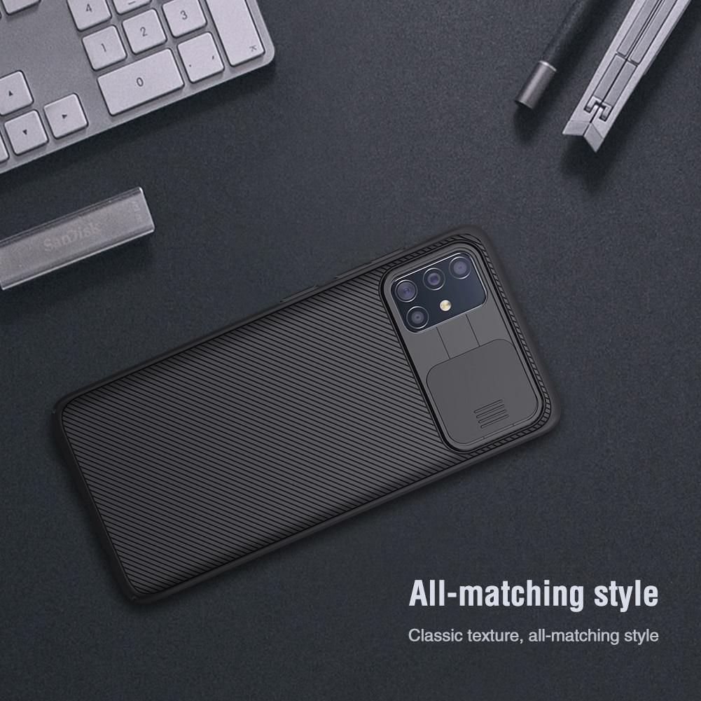 Camera Protection Case For Samsung Galaxy A51 A71 Slide Protect Lens Protection Cover For Samsung Galaxy A51 Case