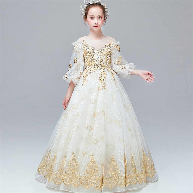 Robe de luxe pour filles | Tenue de princesse