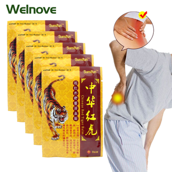 48Pcs Tiger Balm Treatment Orthopedic Medical Plaster Pain Relief Patches Joint Muscle Neck Back Pain Killer Body Massage K00106 new thai herbal massage chamois balm oil relief paralysis muscle pain tinnitus colds free shipping