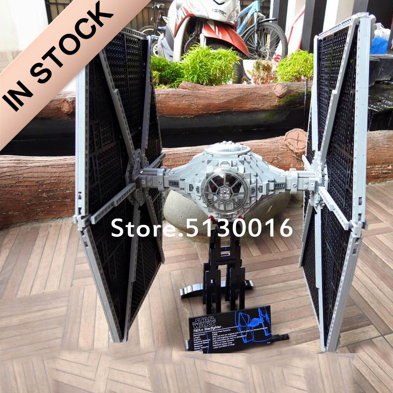 In Stock 05036 UCS TIE Fighter Imperial Empire Strikes 1685pcs Star Movie Wars Model Building Blocks 75095 05043 05047 05038 Toy