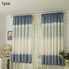 Curtain Door Window Curtain Drape Panel Sheer Scarf Valances Curtains for Living Room bedroom Home Decor contrast panel drape front marled coat