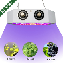 цена на 1100W LED Phyto Lamps COB Full Spectrum dimmable Fitolampy Grow Lights For indoor  Greenhouse Hydroponic plant grow lamp