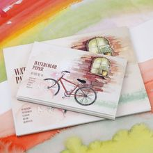 12 Sheet A5/A6 Watercolor Sketchbook Watercolor Paper for Drawing Painting Color Pencil Book School Art Supplies C26