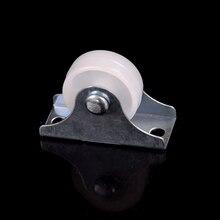 Новинка, 8 шт., 1 дюйм/1,5 дюйма/2 дюйма, плоское автомобильное фиксированное колесико, бесшумное направленное колесо, металл, силикагель, материал, сделай сам, модель, запчасти