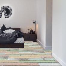 Home Improvement Bedroom Floor Stickers Waterproof Tiles Vinyl Peel And Stick Wood Plank Wallpaper