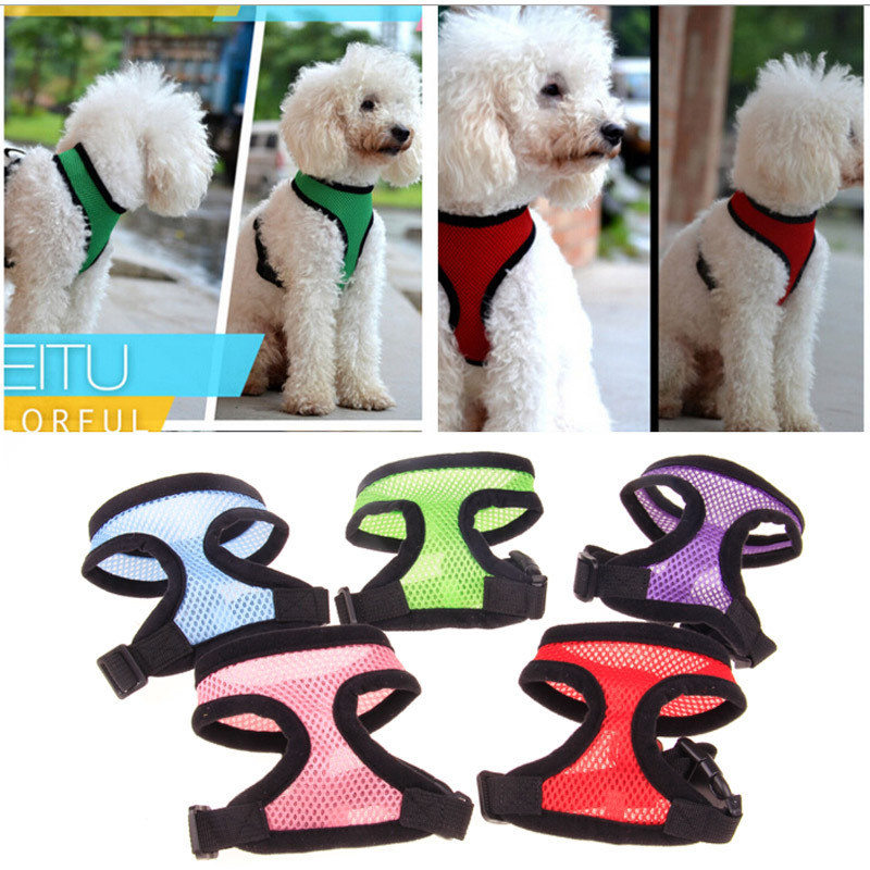 Teddy Mesh Dog Chest Strap Mesh Cloth Sleeve For Chest And Back Mesh Pet's Chest-back Color Completed Have