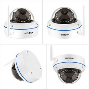 Image 2 - Techege 1080P Wi Fi купольная камера видеонаблюдения домашние купол поддельные CCTV безопасности аудио Беспроводная камера Onvif камера