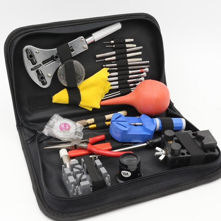 27 teile / satz Armbanduhr Repair Tool Uhr DIY Kit Schraubendreher - Uhrenzubehör - Foto 3