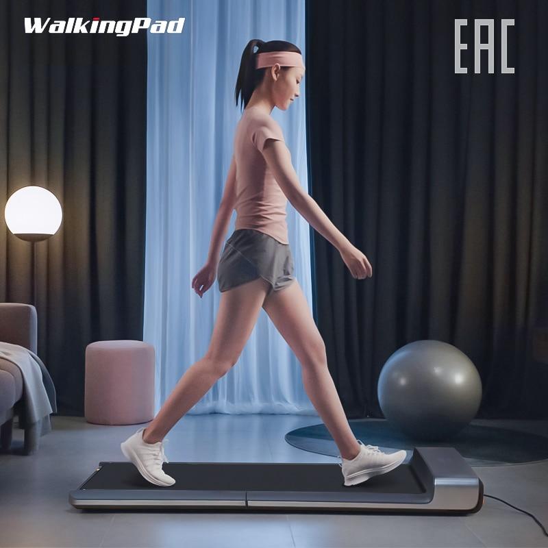 Piso WalkingPad mi ll A1 Inteligente Esporte de Caminhada Correia transportadora Da Máquina Elétrica Dobrável mi De Treinamento do Edifício Do Corpo de Fitness Equipamentos