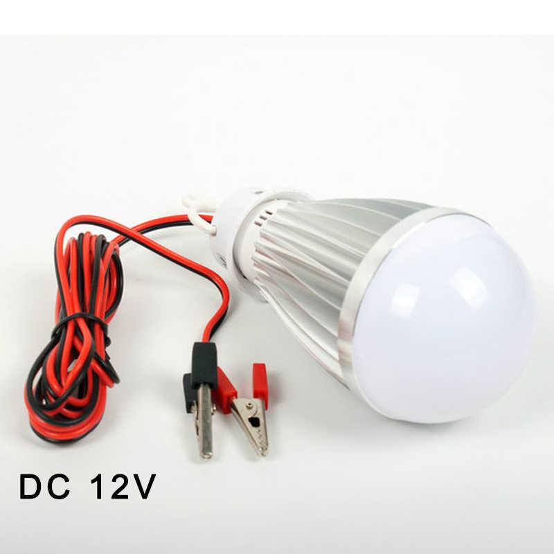 Alta qualidade dc 12 v portátil lâmpada led 3 w 6 9 12 15 18 smd2835 frio/branco quente ao ar livre acampamento barraca de pesca noite pendurado luz