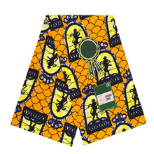 Veritable real dutch prints in fabric 100% cotton 6yards/piece african wax woman ankara soft breathable africa V-L 671