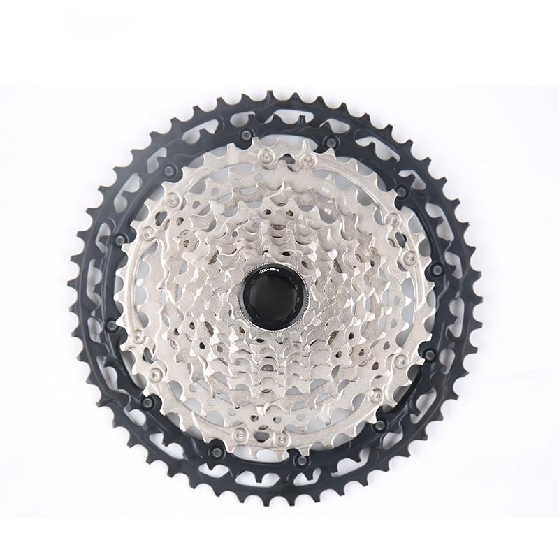 Shimano NEW CS M8100 Cassette Sprocket 12 Speed 10-51T MTB Bike Freewheel New MICRO SPLINE Freehub Body(China)