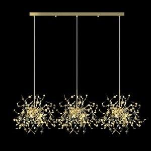 Image 3 - מודרני תליון אורות נירוסטה צל אוכל חדר תליון מנורת led luminaire suspendu מסעדת סלון לופט אור קבועה