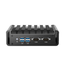 Mini Pc Dual Ethernet 2x RS232 Seriële Poorten Intel Core I5 I3 Processors Hdmi Vga Video-uitgang Wifi Ondersteuning Windows linux Os