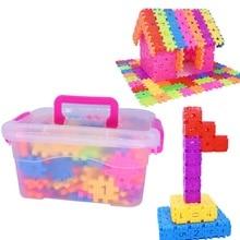Детские Пластиковые Соединительные блоки умный ранний Развивающий Пазл детские игрушки в подарок