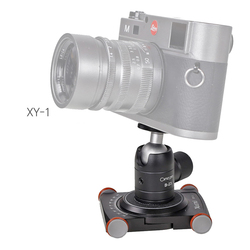 dolly car and 14 screw tripod ball head set desk mobile phone 4 wheels Photography slider dolly video 360 mini rolling dolly