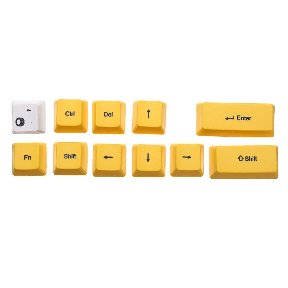 אופנוע Keycap סט PBT סובלימציה OEM פרופיל עבור GK61 GK64 מכאני מקלדת משחקים מכאניים מקלדת עבור מחשב נייד