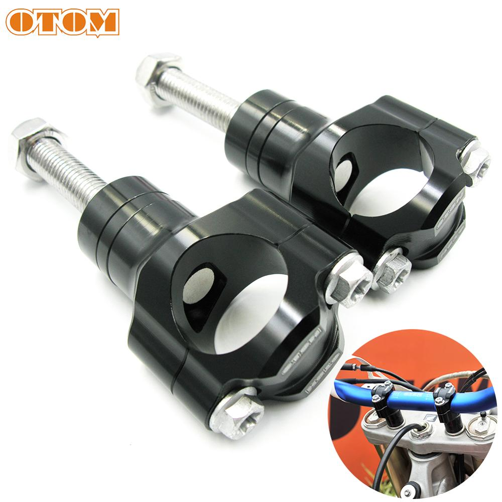 OTOM Motorcycle Handlebar Clamp CNC Aluminum Alloy Bar Clamps 28mm Or 1 1/8