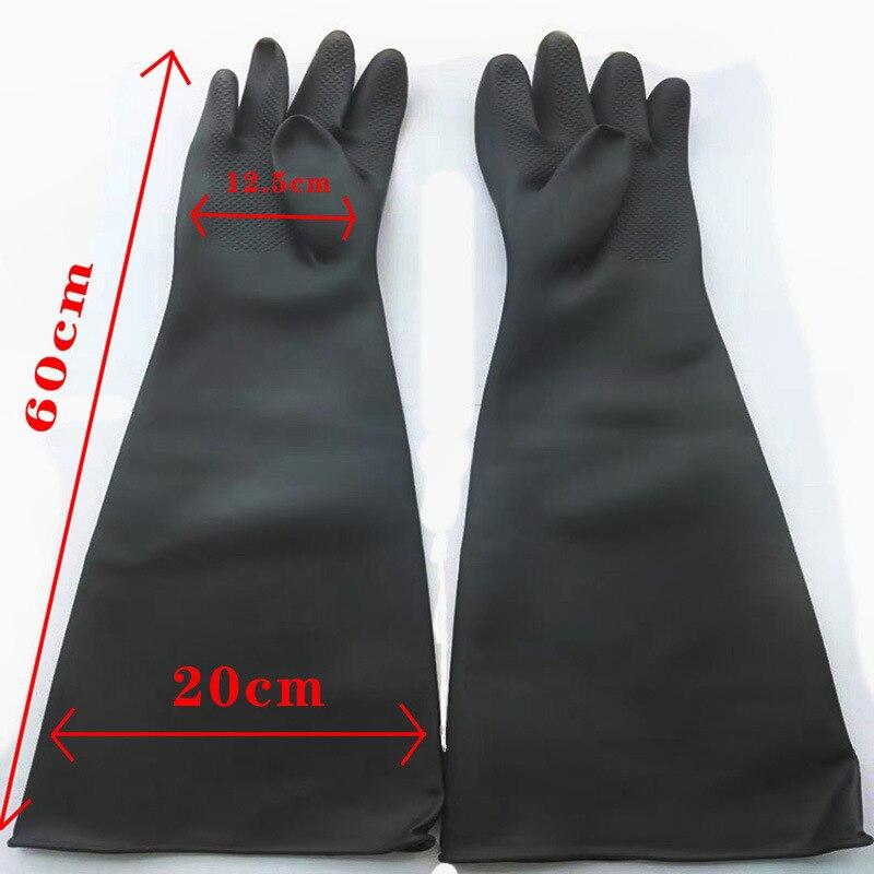 HOLDWIN Sand Blasting Gloves For Sandblast Cabinet Gloves 60*20cm