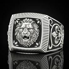 Новинка 2020 мужское властное кольцо s 9 2 5 в стиле панк лев