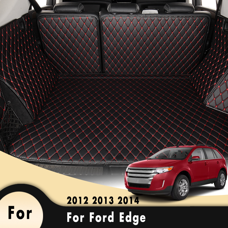 Car Trunk Accessories AUTO Carpets Covers Car Styling Auto Pads Car Cargo Rear Boot Liner For Ford Edge 2012 2013 2014