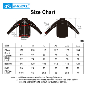 Image 5 - INBIKE Winter Men Cycling Clothes Windproof Thermal Warm Bicycle Apparel Riding Coat MTB Road Bike Clothing Outdoor Sport Jacket