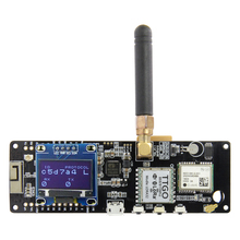 LILYGO®TTGO t beam V1.1 ESP32 433/868/915/923Mhz WiFi Bluetooth Module ESP32 GPS NEO 6M SMA 18650 support de batterie avec OLED