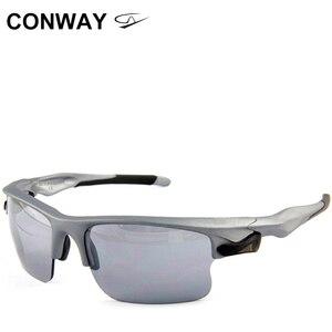 Image 1 - Conway retro kwadratowe okulary sportowe okulary lustro PC marka projekt gogle outdoorowe przeciwodblaskowe taktyczne maska na oczy 9102