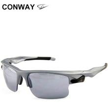 Conway retro square sports glasses sunglasses PC mirror brand design outdoor goggles anti glare tactical eye mask 9102