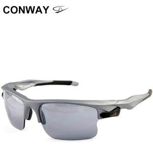 Image 1 - كونواي ريترو ساحة نظارات رياضية النظارات الشمسية PC مرآة العلامة التجارية تصميم نظارات في الهواء الطلق مكافحة وهج التكتيكية قناع عين 9102