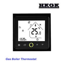 Gas Boiler Thermostat Switch contact Valve radiator for Dry contact amp Passive contact cheap HESSWAY 002GC 49°C Under Temperature Controller Digital Indoor Charger Embedded 2 0 - 3 9 Inches Acrylic 60mm 220VAC 50 60HZ