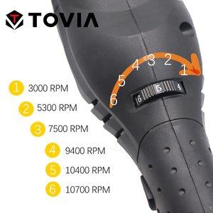 Image 3 - TOVIA 125 millimetri Angle Grinder Elettrico 950W di Macinazione Macchina A Velocità Variabile di Taglio Rettifica Legno Metallo Grinder M14
