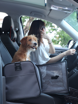 New Products Portable Pet Out Pet Bag Breathable Cat Backpack Car Carrying Large Dog Out Bag Car Pet Carrying DD60GB