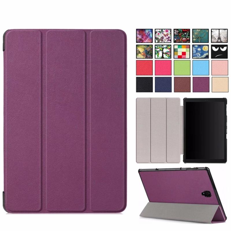 Fashion Flip Smart Case For Samsung Galaxy Tab A 10.5 2018 SM-T590 SM-T595 T590 T595 High Quality Cover For Samsung Tab A 10.5