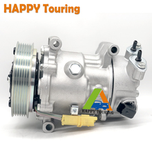 Compressor 9651910980 for Peugeot 207/208/307/308 Citroen C3 C4 C5 Ds3/9822826880/9651910980/..