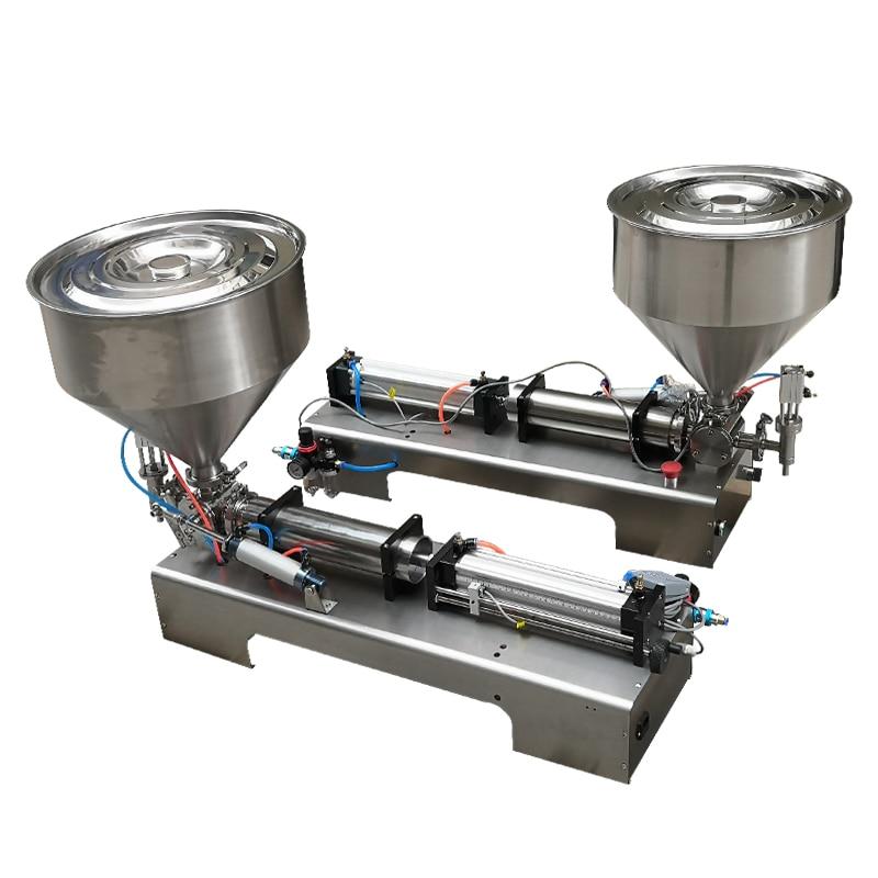 Pneumatic piston filling machine ...