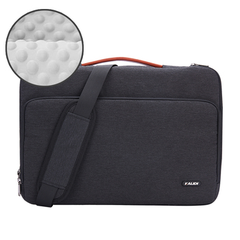 Black Casual Color Bag Sleeve For Laptop And Macbook Air & Pro 6