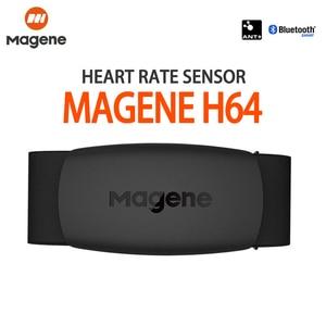 Датчик скорости Magene Gemini S3 ANT + H64, Bluetooth 4,0, датчик сердечного ритма для Strava garmin iGPSPORT Bryton Bike Computer