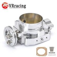 VR алюминий обновление 70 мм корпус дроссельной заслонки серебристый для Honda Civic Acura Integra B16 B18 впускной коллектор VR6952