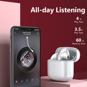 Image 3 - Mini Bluetooth Earphones with Microphone Touch Control Wireless Headphones Headsets Sports Music Wireless Earbuds 24h Play Time