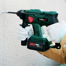 Cordless Hammer Drilling Electric-Drill Concrete-Wood Sds Plus 20V Steel