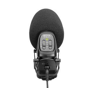 Image 2 - BOYA BY BM3031 מיקרופון Supercardioid הקבל ראיון קיבולי מיקרופון מצלמה וידאו מיקרופון עבור Canon Nikon Sony DSLR למצלמות