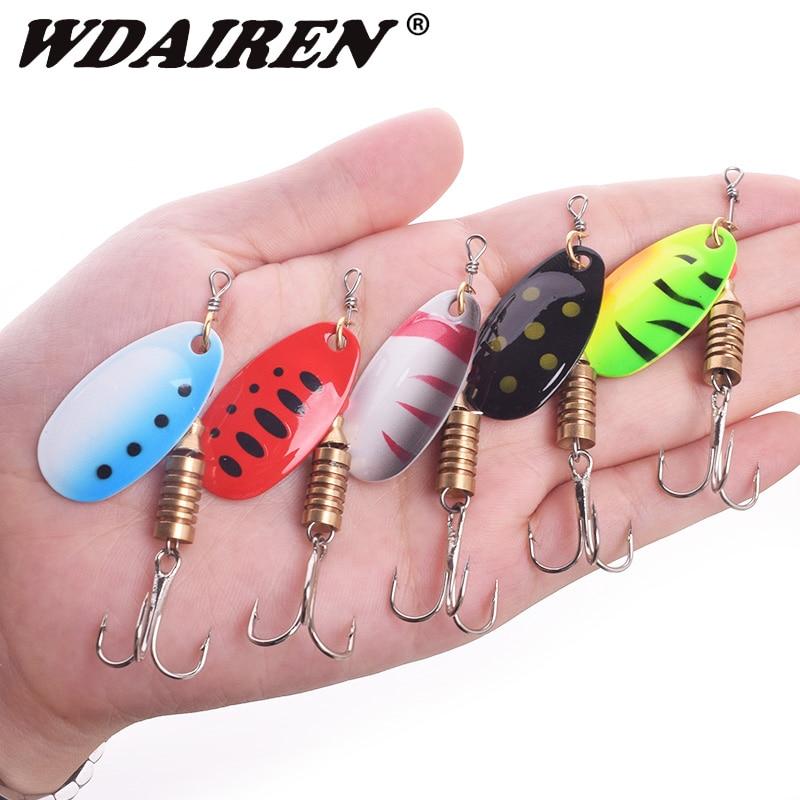 WDAIREN: Spinner Fishing Lure Spoon  1