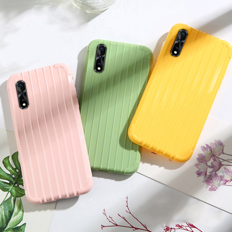 Popular Candy Color TPU Case For VIVO IQOO NEO 3 Pro 5G S6 S5 Case U3 V5 V7 Plus V9 V11i V15 V17 Cover Cute Silicone Phone Cases