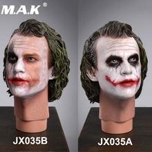 JXTOYS-035 Batman Dark Knight 1:4 Male Head sculpt 1/4 The Joker Head Model PVC Head  for 12