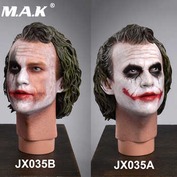 "JXTOYS-035 Batman Dark Knight 1:4 Male Head sculpt 1/4 The Joker Head Model PVC Head for 12"" figure body collection toys - DISCOUNT ITEM  26 OFF Toys & Hobbies"