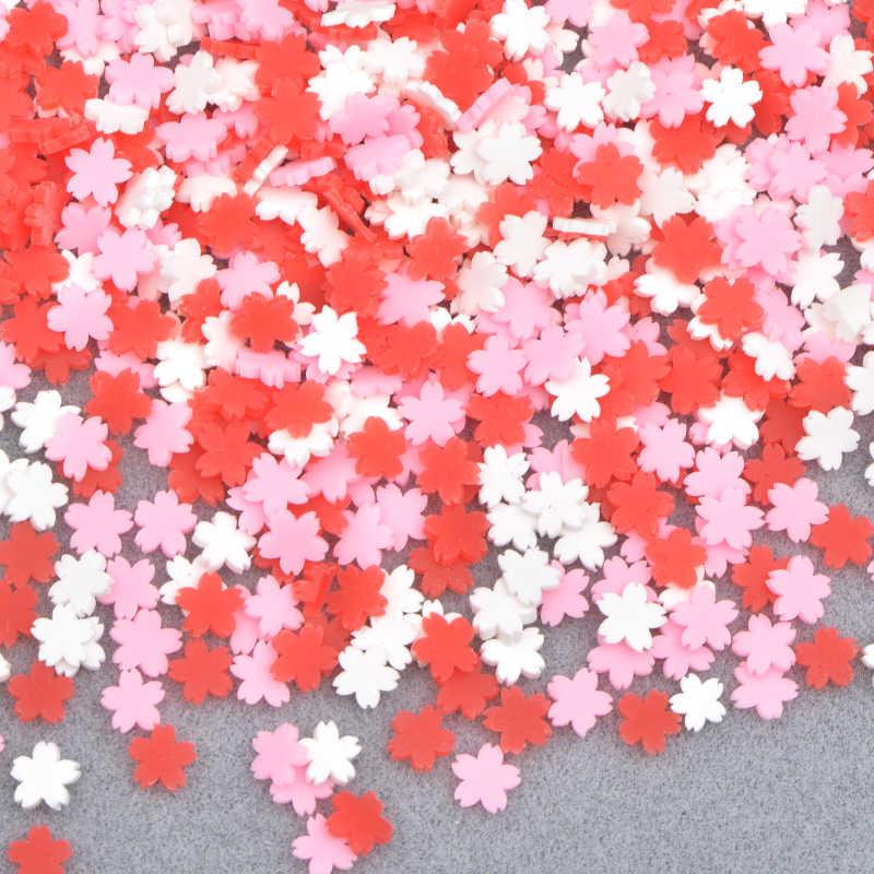JUNAO 10G 5 มม.สีสันPolymer Clay Nail Artสติกเกอร์ผลไม้DIYโทรศัพท์กรณีตกแต่งสมุดภาพDIYหัตถกรรม