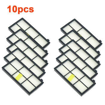 10PCS Hepa Filter For iRobot Roomba 800 900 Series 870 880 980 Filters Vacuum Robots Replacements Cleaner Parts Accessory 10pcs hepa filter for irobot roomba 800 900 series 870 880 980 filters vacuum robots replacements cleaner parts accessory