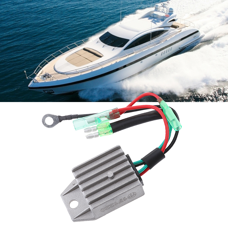 Image 5 - 4 Wire Boat Voltage Regulator Rectifier Fit Universal 2 Stroke 15HP Marine Boat Outboard Aluminium Alloy Boat Accessories Marine-in Boat Engine from Automobiles & Motorcycles